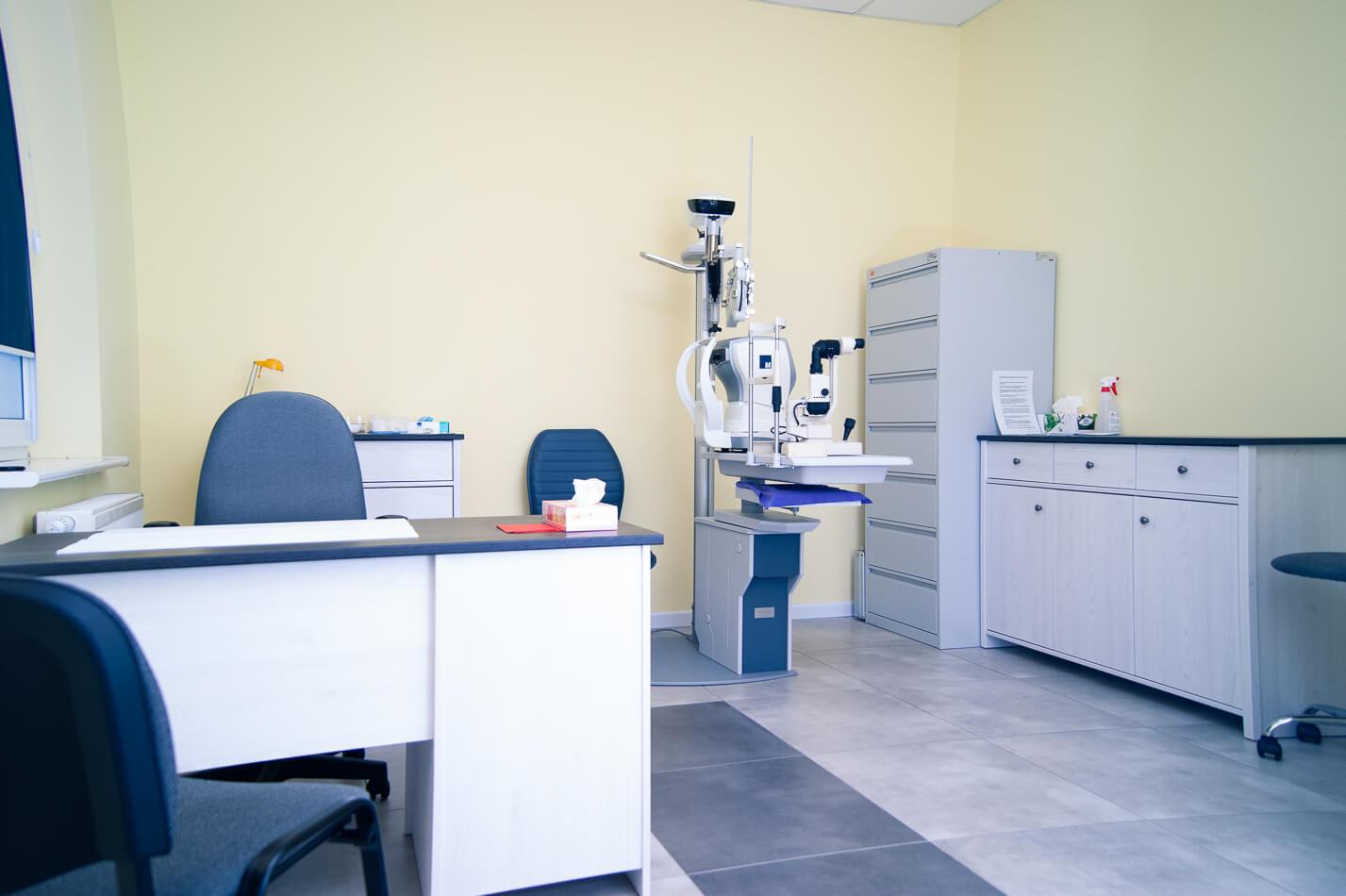 Gabinet okulistyczno – optometryczny